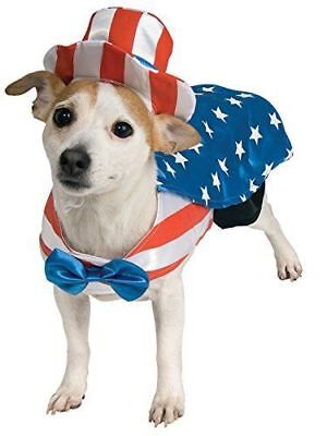 Rubie's Pet Shop Halloween Uncle Sam Red White Blue Pet Dog Size Medium Costume - Uncle Sam Halloween Costumes