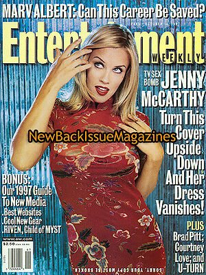 Entertainment Weekly 10 97 Jenny Mccarthy October 1997 New