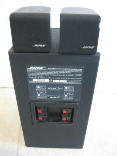 Bose Cube Speakers | eBay