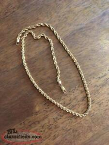 22 karat gold chain for sale or trade