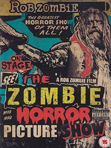 The Zombie Horror Picture Show [DVD] [2014]: Rob Zombie