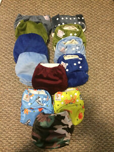 Bamboo cloth diapers (KaWaii Green Baby brand) breats pump