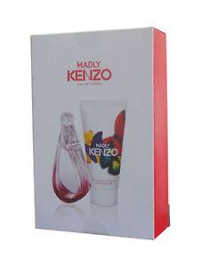 Kenzo Madly EDT 30ml & Body Milk 50ml Gift Set New Sealed FREE UK POST