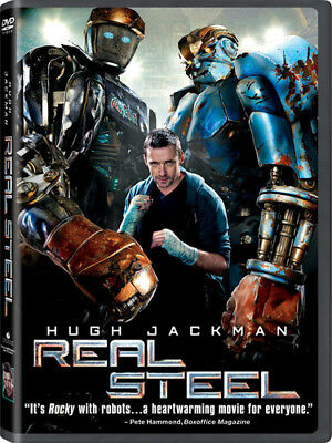 Real Steel [New DVD] Subtitled, Widescreen