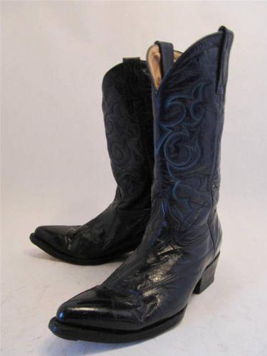 Eel Skin Boots Ebay