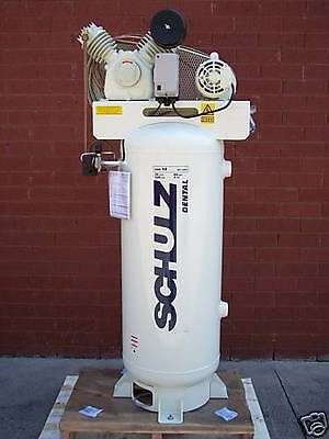 Schulz 3hp Air Compressor 15 Cfm 60 Gallon Vertical New