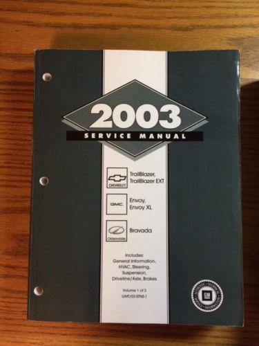 Chevrolet Trailblazer Repair Manual