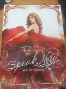 Taylor Swift Speak Now Tour Book