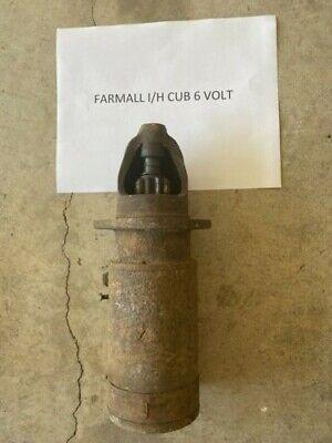 Farmall Ih Cub 6 Volt Starter