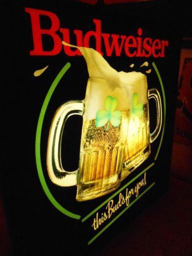 Budweiser Neon Sign Ebay