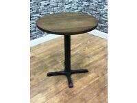 Heavy Duty Solid Wood Restaurant Pub Bar Bistro Cafe 700mm Round Table