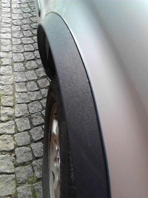 Mercedes ML W163 Radlauf Zierleisten SCHWARZ MATT hinten 2 Stück Bj. 97-05 NEU