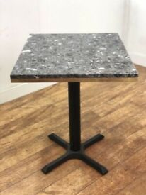 Contract Quality Marble Restaurant Bar Bistro Pub Rectanlge Table 600x700mm