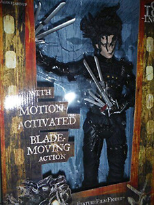 """EDWARD SCISSORHANDS"" 18""(INCH) ACTION FIGURE-Johnny Depp"