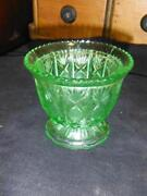 Depression Glass Vase