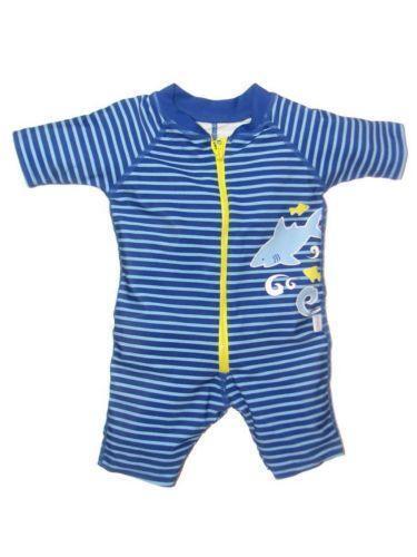 Baby Boy One Piece Swimsuit Ebay