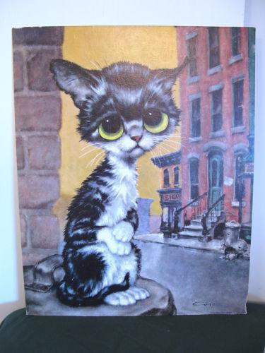 Cat S Eye Card
