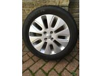 New Kia Alloy Wheel with Brand New 205 55 16 Tyre in West London Area