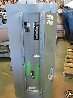 Square D Nqod 150 Amp Main Breaker 120208 Volt 42 Circuit Panelboard - E240