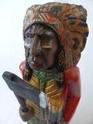Cigar Indian Statue