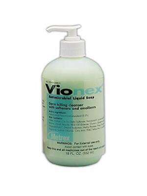 VioNex Antimicrobial Liquid Skin Soap 18 oz Pump 10-1518 Antibacterial AloeGuard
