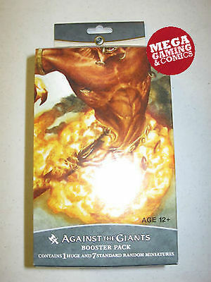 Giants Booster Pack - Dungeons And Dragons Against the Giants Sealed Booster Pack