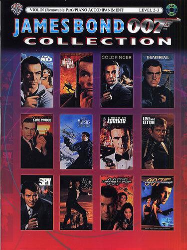 James Bond 007 Collection Violin, Sheet Music, CD, English - 9780757922930