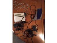 Bang & Olufson BeoCom 6000 Phone and BeoTalk 1200 Answer Machine
