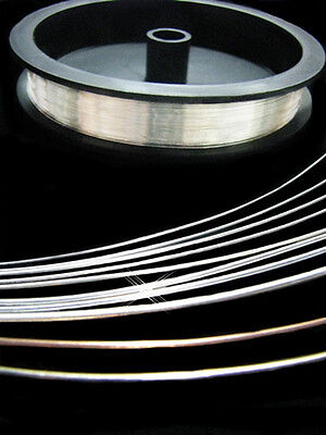 100 Eco Wire (32 Gauge R DS 100% RECYCLED 935 ARGENTIUM® Sterling Silver Wire 20 FEET ~ ECO )