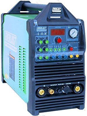 Powerpro 205s 200amp Acdc Tig Arc Pulse Welder 50amp Plasma Cutter By Everlast