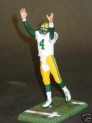 NFL Green Bay Packers Brett Favre Action Figure, NEW Brett Favre Packers Figure