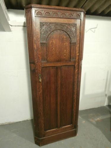 Single Oak Wardrobe Ebay
