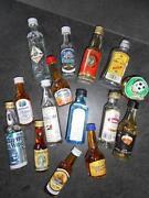 Kleine Schnapsflaschen