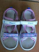 Clarks Girls White Sandals