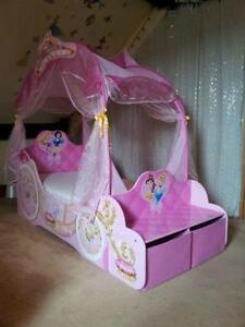 Disney Princess Carriage Beds