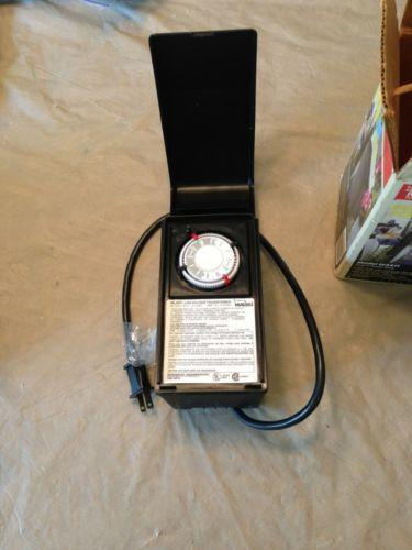 Low Voltage Landscape Lighting Transformer Ebay