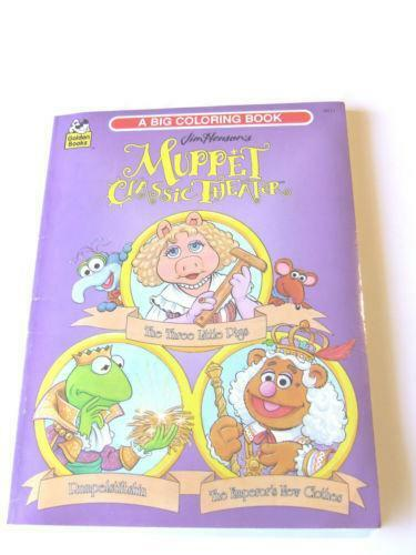 Muppet Coloring Book