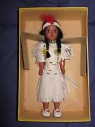 Plastic Indian Doll