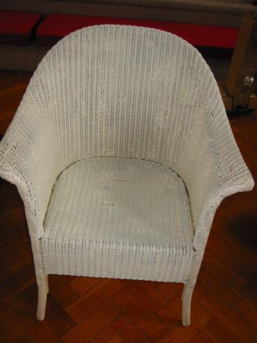 lloyd loom wicker chair ebay. Black Bedroom Furniture Sets. Home Design Ideas