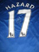 Eden Hazard Signed