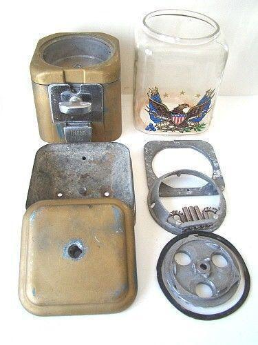 vintage gumball machine parts