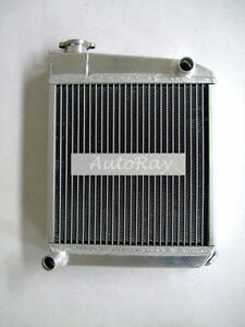 Aluminum Radiator for Austin Rover MINI Cooper Manual 50mm 1275 1959-1997 2 Core