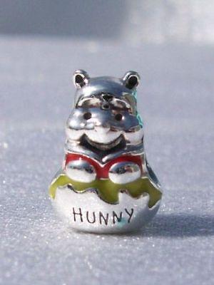 Authentic Pandora Silver 925 ALE Disney Winnie Pooh Hunny Pot Charm 791919ENMX