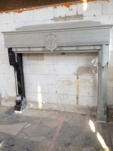 stone fireplace mantel ebay. Black Bedroom Furniture Sets. Home Design Ideas