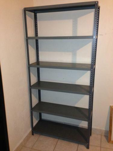 Used Steel Shelving Ebay
