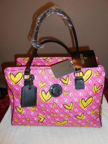 Guess Overnight Bag Ebay