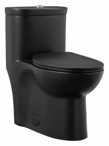 Swiss Madison SM-1T205 Sublime 0.8 / 1.28 GPF Dual Flush One - Black