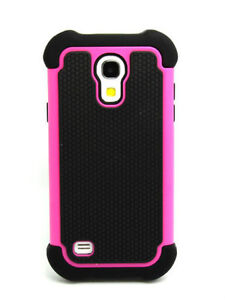 BRAND NEW Heavy Duty Silicone Hard Case Samsung Galaxy S4 Mini