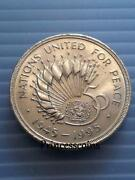 United Nations 2 Pound Coin