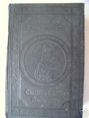 Christkatholische Handpostille Erbauungsbuch 1902